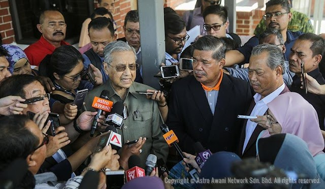 PPBM Bakal Diharamkan, Mahathir Mengamuk Di KDN! #KekalNajib #TolakPakatanHarapan #LawanDAP #Perjuangan4All