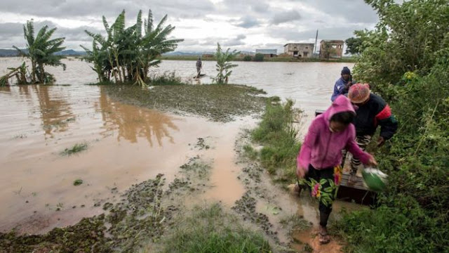 He stated that no fewer than 38 people had been killed countrywide by the cyclone, including a family who died in a landslide