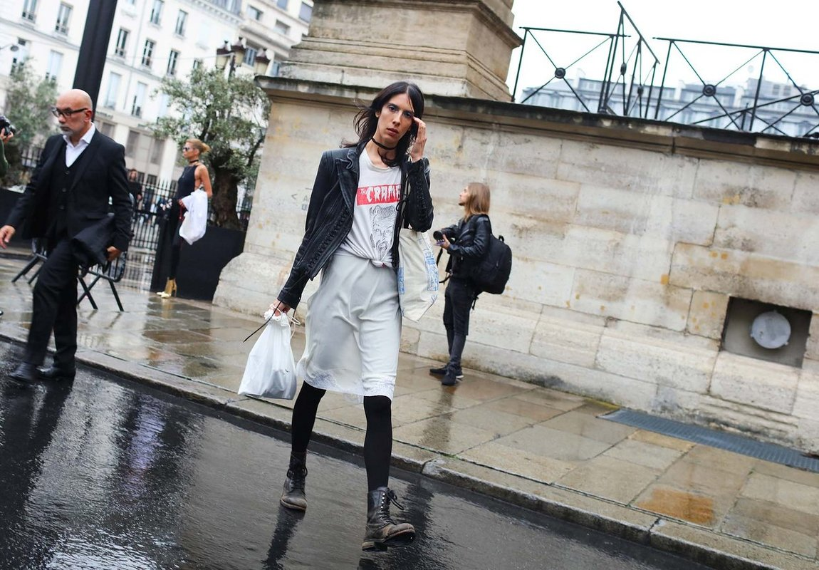 Street Style: Jamie Bochert's Punk-Inspired Look