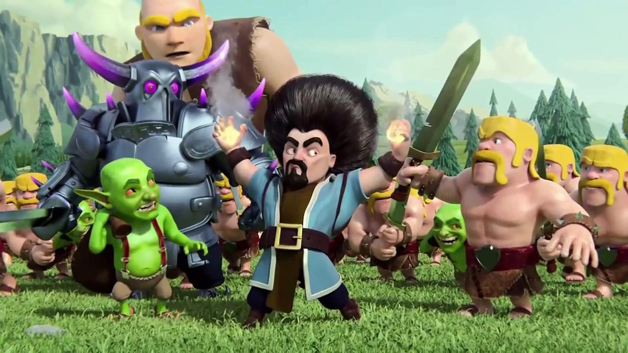 Kumpulan Foto Clash Of Clans Movie Dan Tonton Video Clash Of Clans