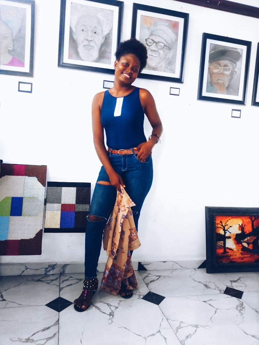 A VISIT TO PROF. STELLA IDIONG ART GALLERY