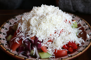 Shopska Salad for A