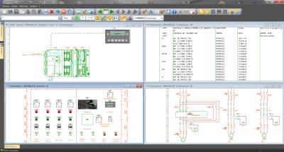 T lecharger logiciel les sch ma lectrique g nie lectronique - Logiciel armoire electrique ...