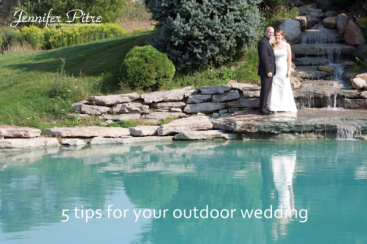 5 tips for your outdoor wedding {Hamilton Ontario Wedding Photographer}