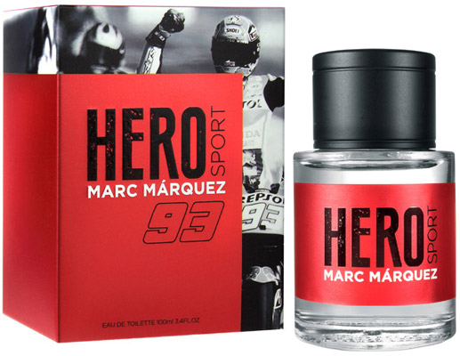 fragancia hombre Hero Sport Marc Márquez