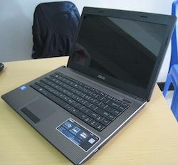 jual laptop bekas asus x44n