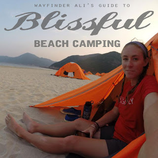 how to beach camp