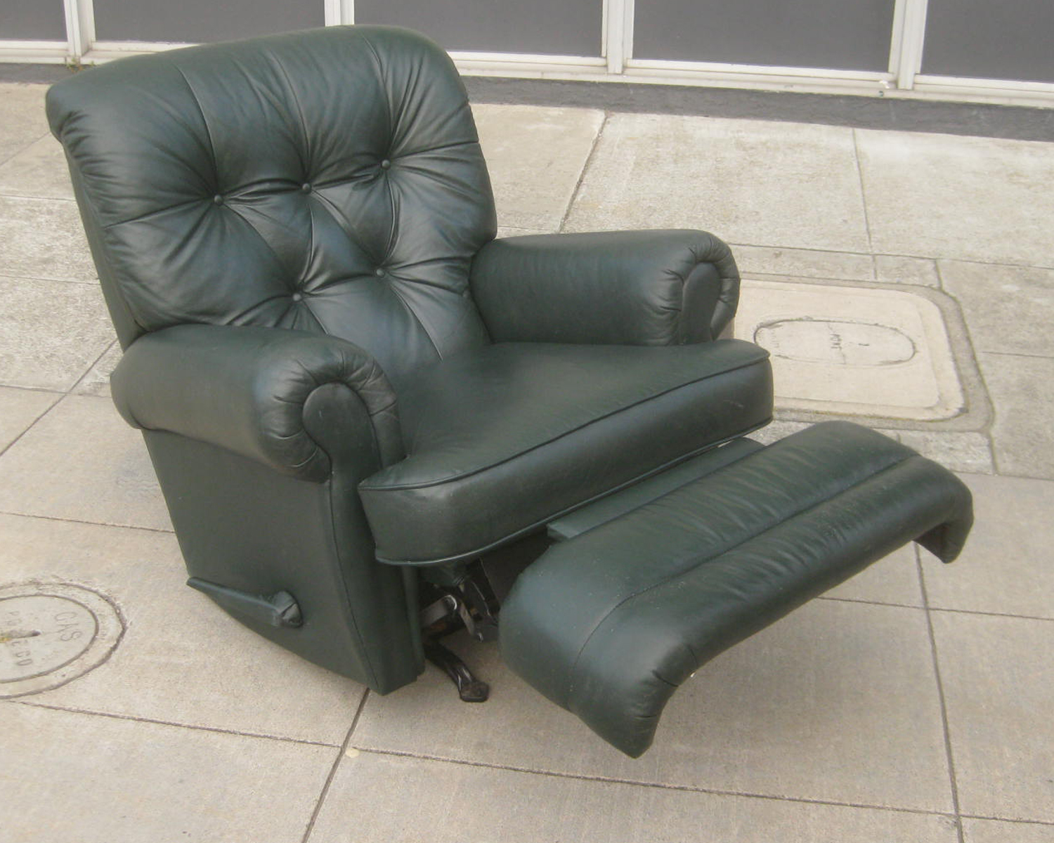 dark green recliner chair brown outdoor cushions leather 28 images