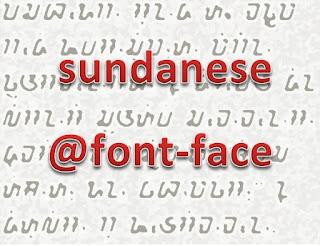 Aksara Sunda dina Website