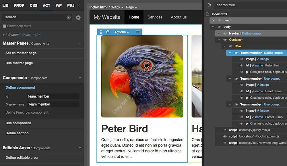 Pinegrow Web Editor 5