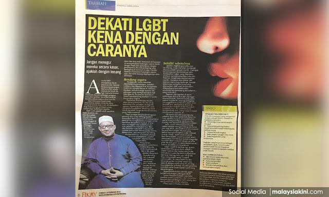 Heboh! Cara Mengenali LGBT Surat Kabar Malaysia: Suka Pelihara Jenggot dan Kumis Ciri-ciri Pria Gay