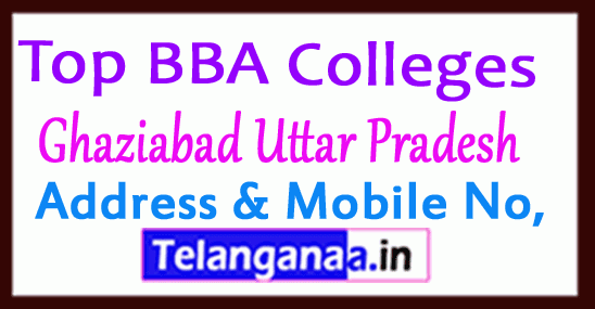 Top BBA Colleges in Ghaziabad Uttar Pradesh