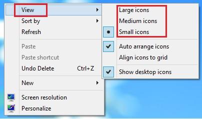 कंप्यूटर का एक मज़ेदार ट्रिक्स-Desktop Icon Ka Size Kaise Badle
