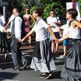 Cabalgata de la Fiesta Vasca. Fuente: desconocida