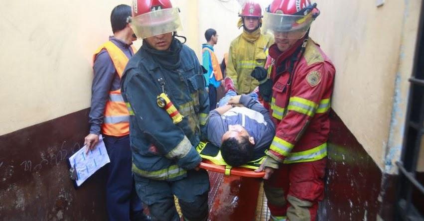 SIMULACRO 2019: «Terremoto» de magnitud 8 dejó más de 41 mil víctimas en Lima