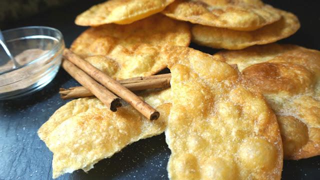 Buñuelos o tortillas fritas