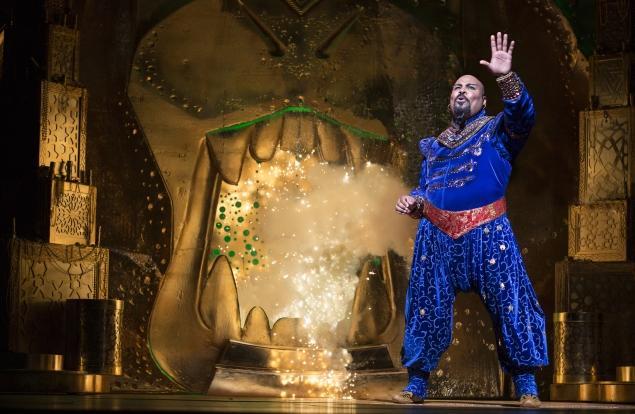 Aladdin comédie musicale Broadway