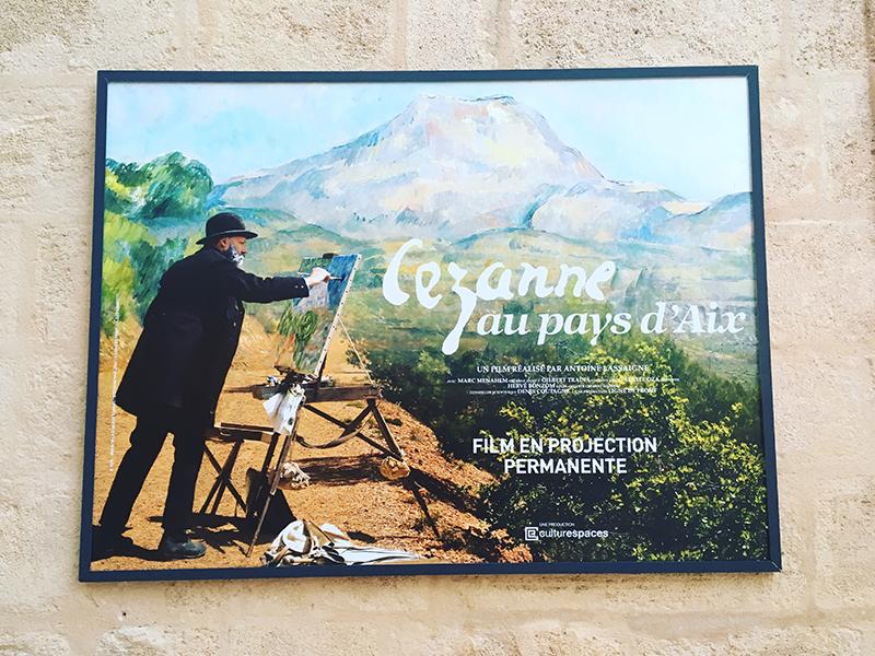 caumont centre d'art aix en provence turner et la couleur Cezanne