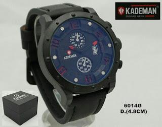 Harga Jam Merk Kademan warna hitam