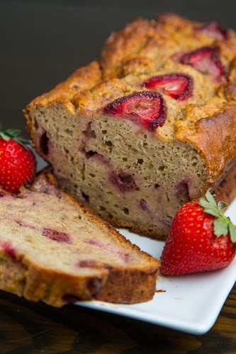 Strawberry Greek Yogurt Banana Bread Recipe