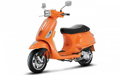 New Vespa SXL 125 Orange colour