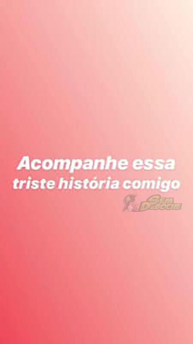 ACOMPANHE ESSA TRISTE HISTÓRIA COMIGO