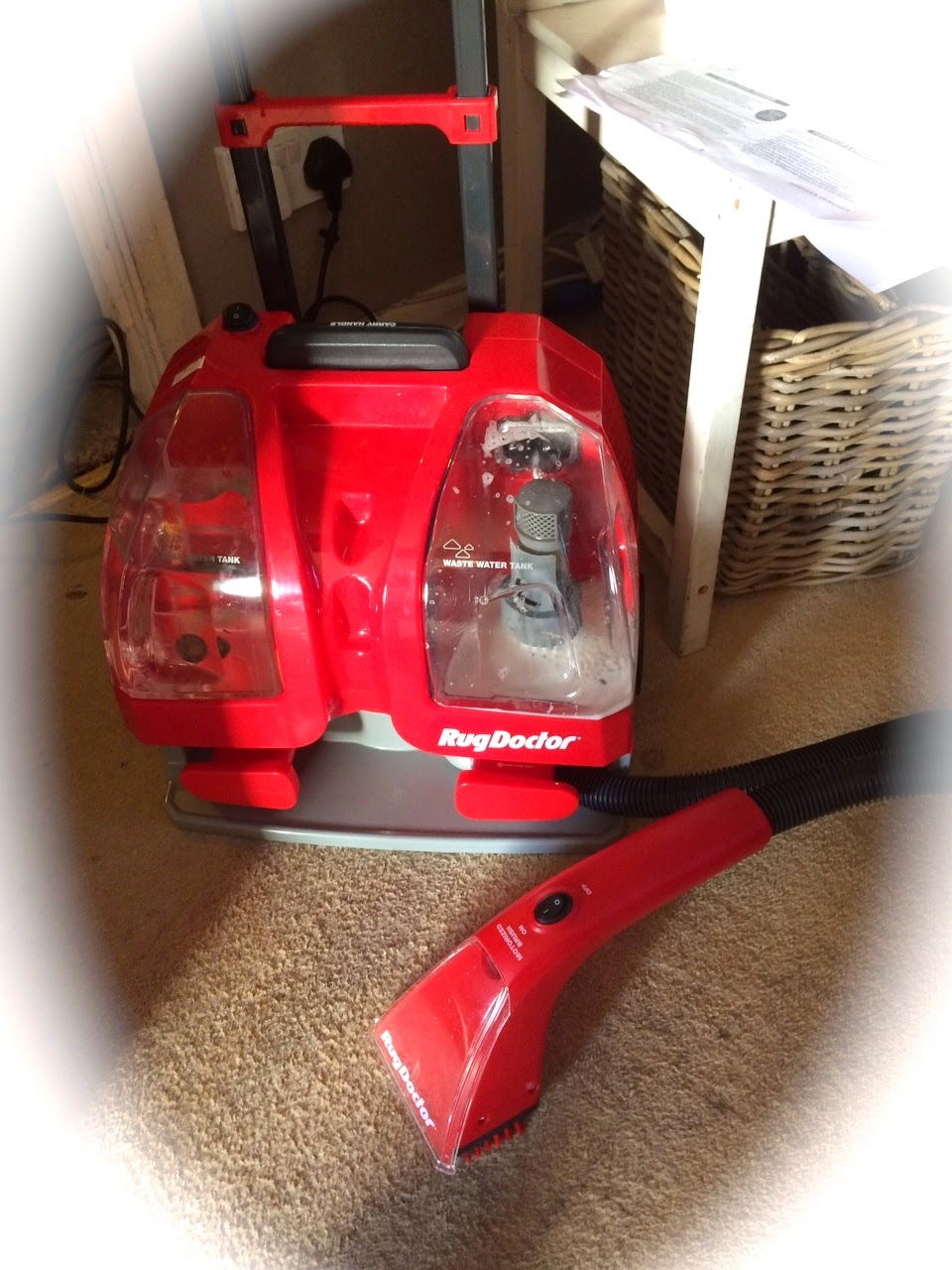 Rug Doctor Portable Spot Cleaning Machine And Spot