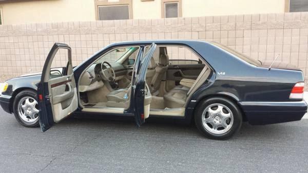 Daily Turismo 5k Long Wheelballer 1999 Mercedes Benz S600 V12 W140