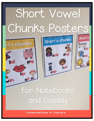 Short Vowel activities for word work