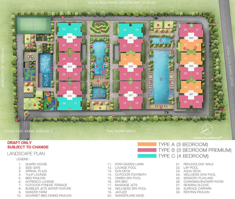 Wandervale Site Plan