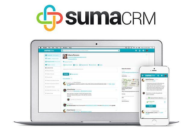 SUMA CRM Software Gratuito Online