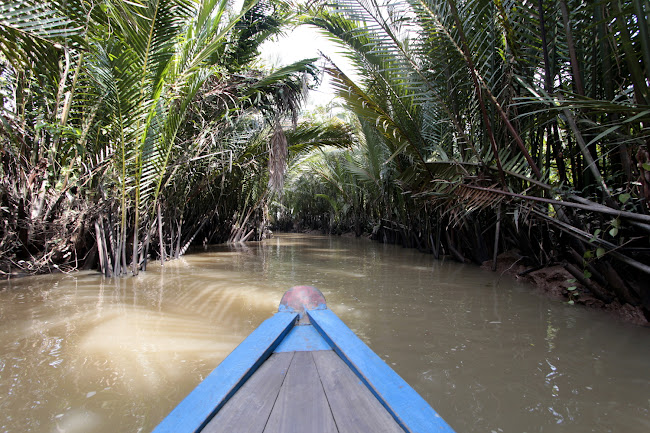 En los canales del río Mekong