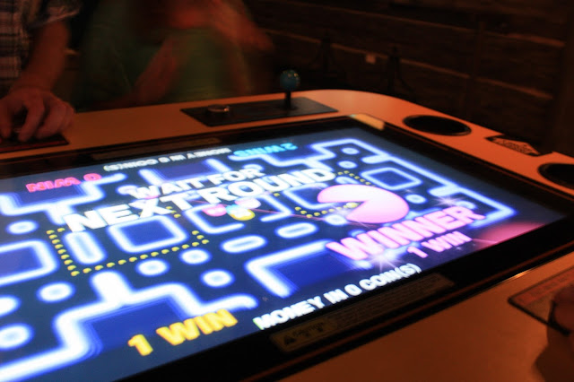 Four player PacMan is so much fun and addictive!