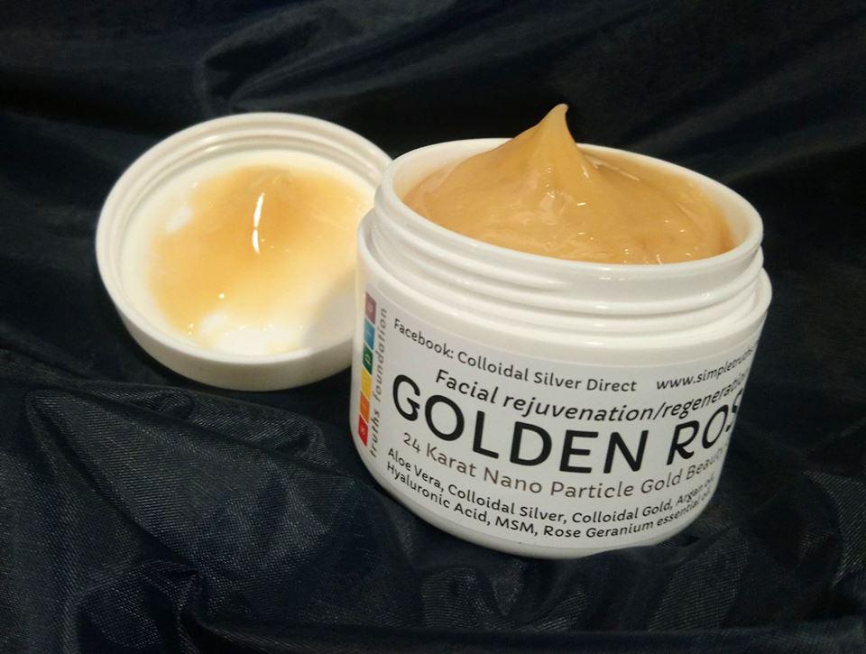 GOLDEN ROSE FACIAL REJUVENATION GEL | Colloidal Silver Direct