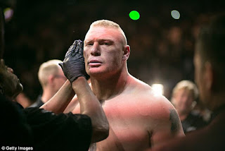 Brock Lesnar is about to return to UFC competitions