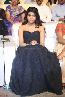 Actress Monica in spicy transparent Black Top at O Pilla Nee Valla Movie Audio Launch Feb 2017 005.JPG