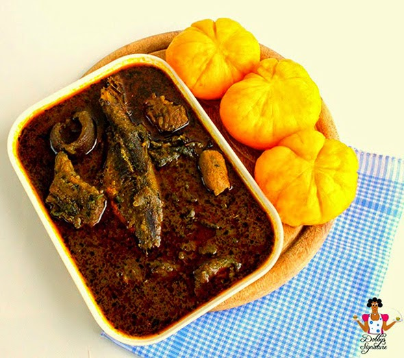 Niger delta banga soup