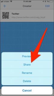 Cara Membuat QR Code di iPhone (QR Reader)