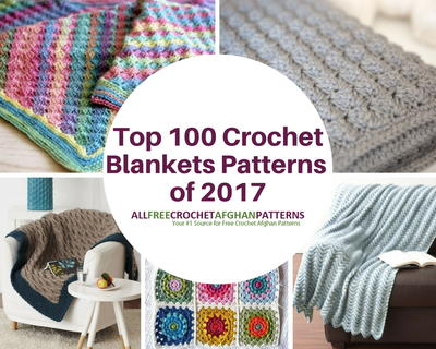 AllFreeCrochetAfghanPatterns Top 100 Crochet Blanket Patterns of 2017 -- Felted Button's Spring into Summer