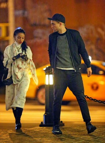 Robert Pattinson and FKA Twigs on Turtel Tour