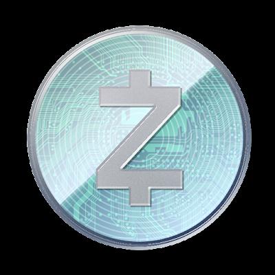 仮想通貨ジーキャッシュのフリー素材(アルミver)