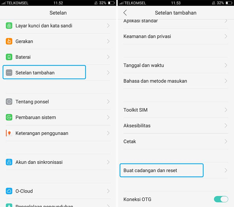 Factory Reset Samsung Galaxy S5 Active