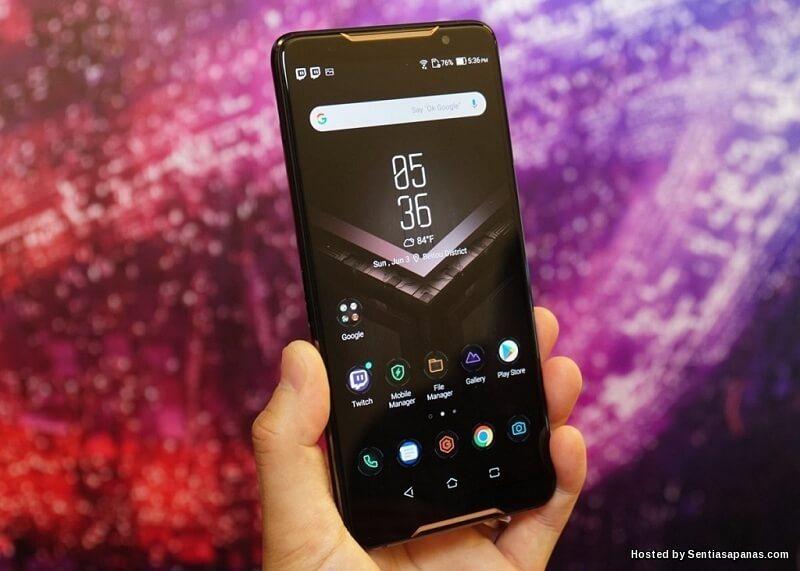 Asus ROG Phone Smartphone Gaming Terbaik Pernah Dilancarkan