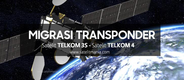 Seluruh Transponder Telkom 3S akan Pindah ke Telkom 4?