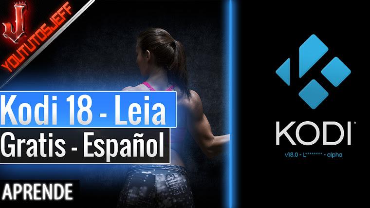 Descargar Kodi 18 Leia Español