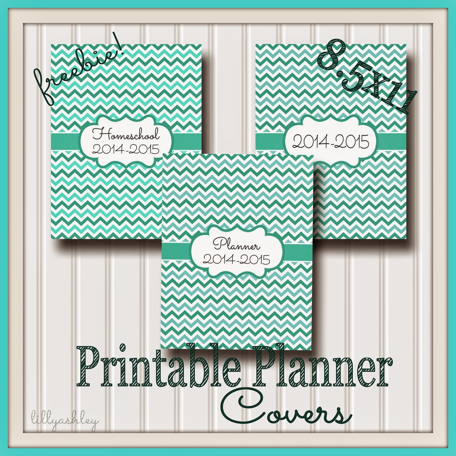 Homeschool Folder Chevron