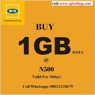 Buy MTN Data