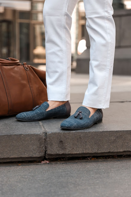 Wearing Spring Tassel Loafers | Levitate Style