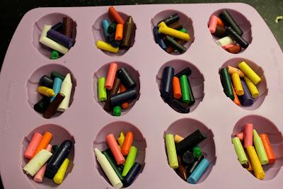 diy easter eggs crayons
