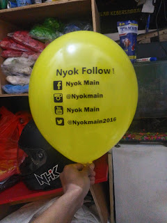 aneka balon printing pusatnya di jakarta